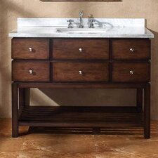 "<strong>James Martin Furniture</strong> Moria 48"" Single Bathroom Vanity Set"