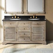 "Astrid 58"" Double Bathroom Vanity Base"
