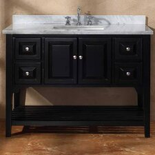 "<strong>James Martin Furniture</strong> Bayle 48"" Single Bathroom Vanity Set"