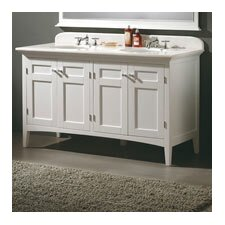 "Vivian 60"" Double Bathroom Vanity Set"