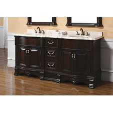 "Crest 72"" Double Bathroom Vanity Set"
