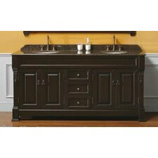 "Marlisa 72"" Double Bathroom Vanity Set"