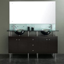 "63"" Double Sink Vanity Set"