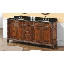 "<strong>James Martin Furniture</strong> Park Avenue 72"" Double Bathroom Vanity Set"