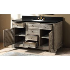 "<strong>James Martin Furniture</strong> Astrid 59.25"" Single Bathroom Vanity Set"