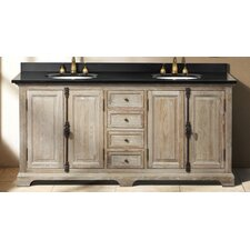 "Genna 71"" Double Bathroom Vanity Base"