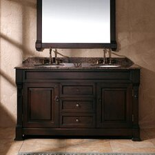 "Marlisa 60"" Double Bathroom Vanity Base"