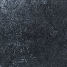 "<strong>Mats Inc.</strong> Floorworks Luxury 12"" x 18"" Vinyl Tile in Mountain Slate"