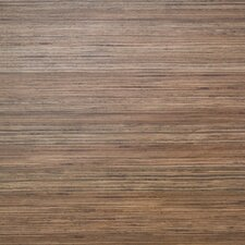 "Floorworks Luxury 6"" x 36"" Vinyl Plank in Blended Strip Wood"