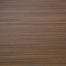 "Floorworks Luxury 6"" x 36"" Vinyl Plank in Natural Zebrano"