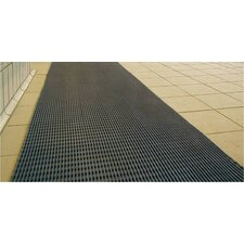 World's Best Barefoot Mat 3' x 5' Safety and Comfort Mat in Gray