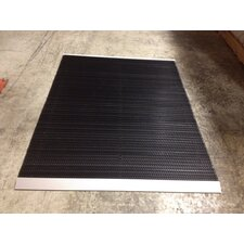 "The Ultimate 48"" x 36"" Outdoor Bristle Mat in Black"