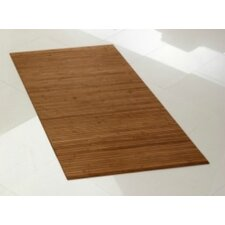 "Flexiboo 6'7"" x 5' Bamboo Area Rug in Mahoney"
