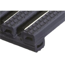 <strong>Mats Inc.</strong> Ergorunner 2' x 10' Safety and Comfort Matting in Black