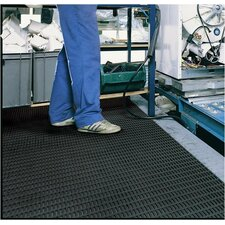 Ergorunner 3' x 10' Safety and Comfort Matting in Black