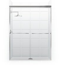Paragon Frameless Sliding Shower Door 1/4""