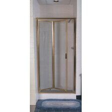 <strong>Coastal Industries</strong> Paragon Double Hinge Bifold Shower Door