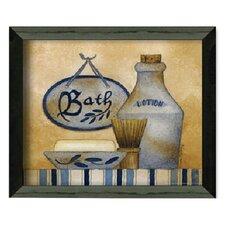Bath by Linda Spivey Framed Graphic Art