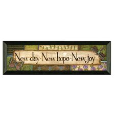 New Day by Annie Lapoint Framed Graphic Art