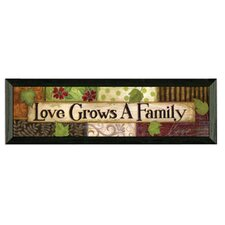 Love Grows by Annie Lapoint Framed Graphic Art