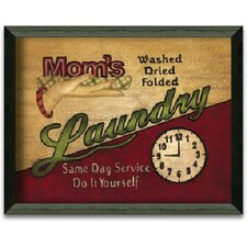 Mom's Laundry Art Print Wall Art