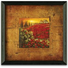 Red Poppies I Art Print Wall Art