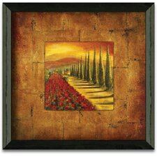 Red Poppies II Art Print Wall Art