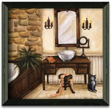 Fireplace Escape II Art Print Wall Art