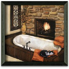 Fireplace Escape I Art Print Wall Art