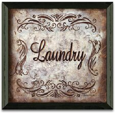 Laundry Art Print Wall Art