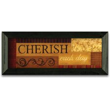 Cherish Each Day Art Print Wall Art
