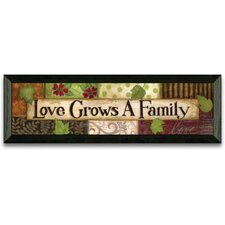 Love Grows Art Print Wall Art