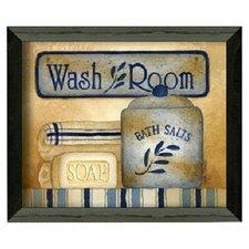 Wash Room by Linda Spivey Framed Graphic Art