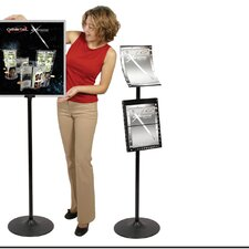 2 Pocket Observe Grand Heavy Duty Pedestrian Info Center