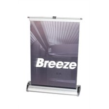 <strong>Orbus Inc.</strong> Breeze Retractable Tabletop Banner Stand