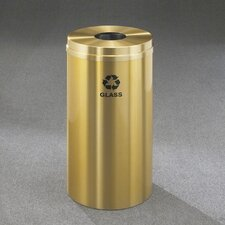 RecyclePro Single Stream Bottles 16 Gallon Industrial Recycling Bin