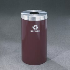 RecyclePro Single Stream Bottles 33 Gallon Industrial Recycling Bin