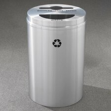 RecyclePro Dual Stream 33 Gallon Multi Compartment Recycling Bin