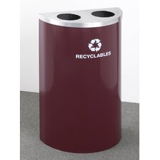 <strong>Glaro, Inc.</strong> RecyclePro Value Series Dual  Stream Recycling Receptacle