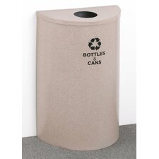 RecyclePro Value Series Single Stream 16 Gallon Industrial Recycling Bin