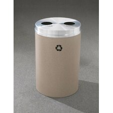 <strong>Glaro, Inc.</strong> RecyclePro Dual Stream Recycling Receptacle