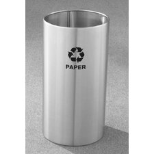 RecyclePro Single Stream Open Top 22 Gallon Industrial Recycling Bin