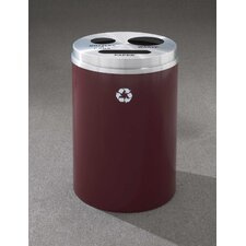 <strong>Glaro, Inc.</strong> RecyclePro Triple Stream Recycling Receptacle