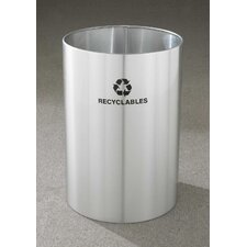 RecyclePro Single Stream Open Top 39 Gallon Industrial Recycling Bin
