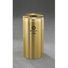 RecyclePro Single Stream Bottles 12 Gallon Industrial Recycling Bin
