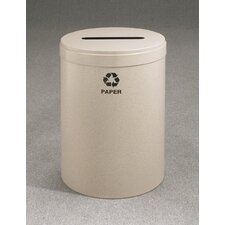 RecyclePro Value Series Single Stream 41 Gallon Industrial Recycling Bin