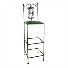 "36"" Rose Metal Bar Stool"