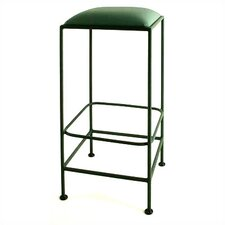 "30"" Square Backless Metal Bar Stool"
