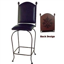 <strong>Grace Collection</strong> Designer Swivel Bar Stool