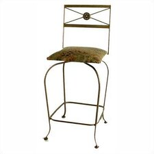 "Neoclassic 24"" Swivel Counter Stool"